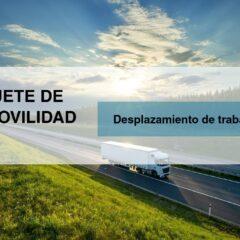 Desplazamiento de trabajadores | Paquete de Movilidad